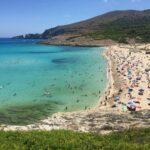 plaża Cala mesquida na Majorce