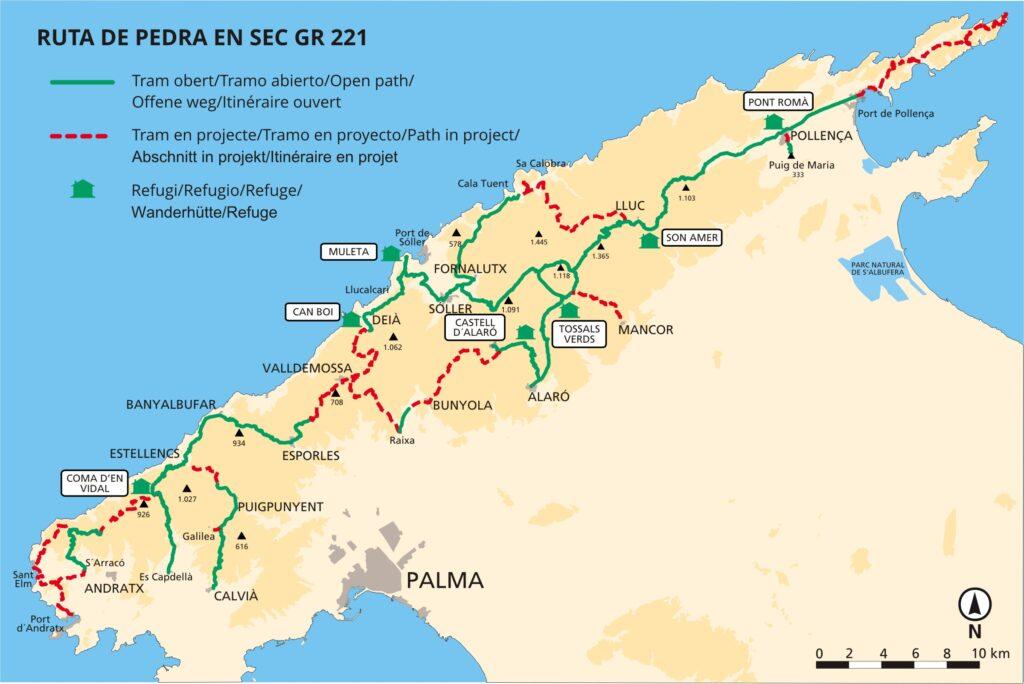gory na Majorce