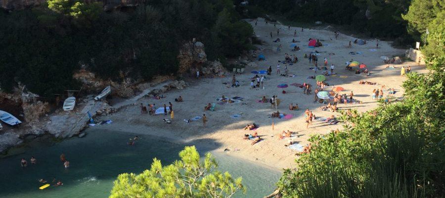 top plaże na majorce