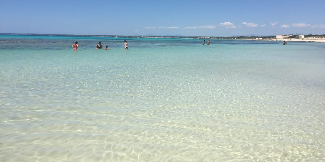 Es trenc plaża na Majorce